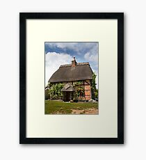 Chocolate Box Cottage Framed Print