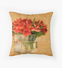 Cultivated Beauty Throw Pillow