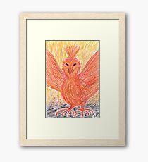 2013 - Wie Phoenix Aus Der Asche Framed Print