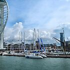 PORTSMOUTH HARBOUR AND THE SPINNAKER TOWER. by ronsaunders47