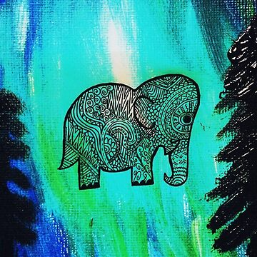 elephant painting  by FullHouse