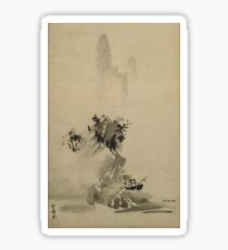 Sesshu Toyo – Broken Ink Landscape (1495) Sticker