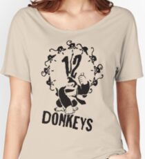 12 Donkeys Women's Relaxed Fit T-Shirt