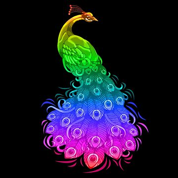 Colorful Peacock by marinn