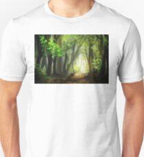 Forest Scene, Original Digital Painting  T-Shirt