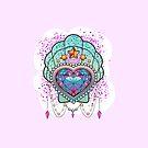 Kawaii Gem Seashell by lilloafdesigns