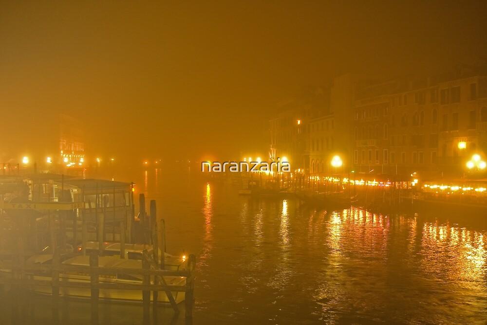 Misty Grand canal Venice by naranzaria