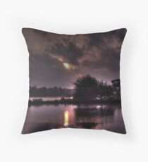 Sunrise on the River Orwell  Throw Pillow