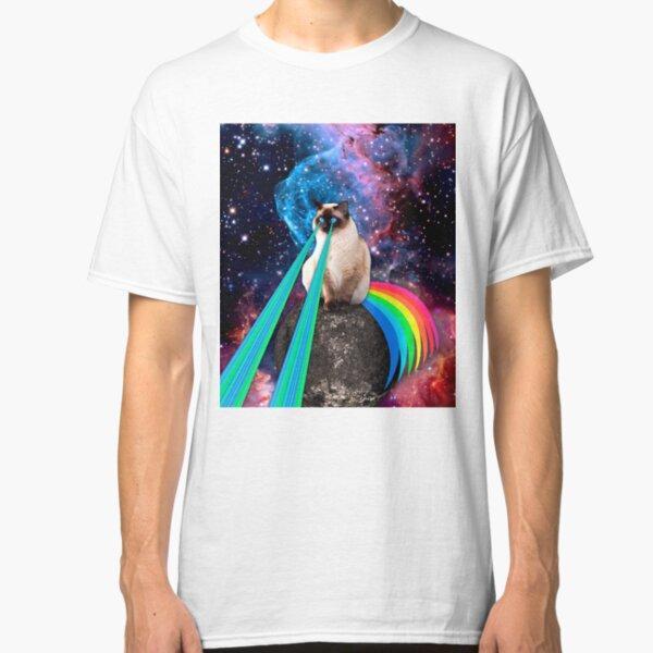 SIAMESE LASER CAT  Classic T-Shirt