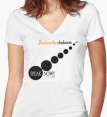 Reduce Women's Fitted V-Neck T-Shirt