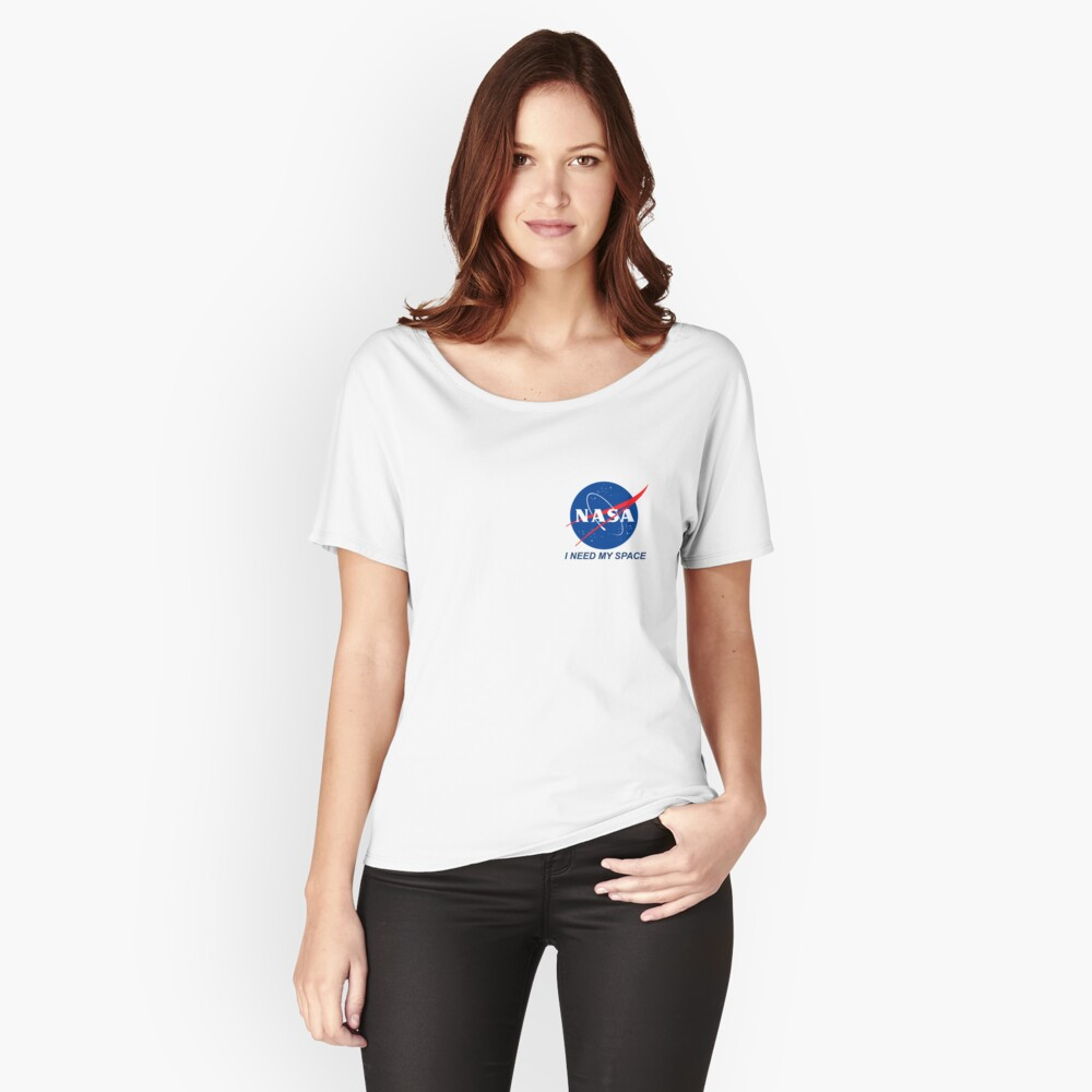 I Need My Space Relaxed Fit T-Shirt