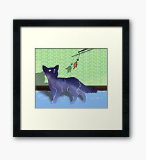 Playful Infinity Framed Print
