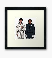 Troy and Abed Community Framed Print