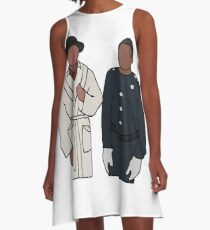 Troy and Abed Community A-Line Dress