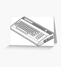 Classic Commodore 64 Greeting Card