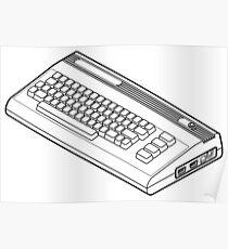 Classic Commodore 64 Poster