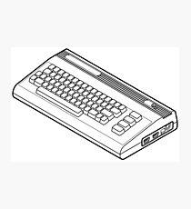 Classic Commodore 64 Photographic Print