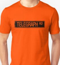 Telegraph Road stencil effect Unisex T-Shirt