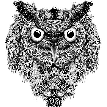 Owl Pattern Design  by MarshallArtt