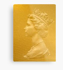 God save the Queen! Metal Print