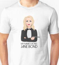 Gillian Anderson - Jane Bond T-Shirt
