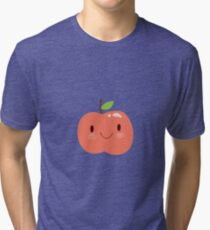 Happy Apple Tri-blend T-Shirt