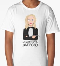 Gillian Anderson - Jane Bond Long T-Shirt