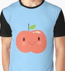 Happy Apple Graphic T-Shirt