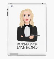 Gillian Anderson - Jane Bond iPad Case/Skin