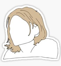 Kurt Cobain Sticker