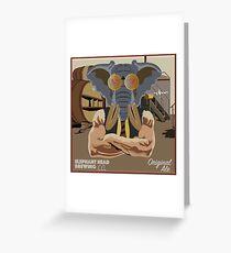 ElephantHead Brewing Company Design Greeting Card