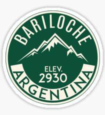 SKIING BARILOCHE ARGENTINA APRES SKI MOUNTAINS Sticker
