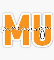 Mercer University Sticker