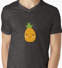 Happy Pineapple Men's V-Neck T-Shirt