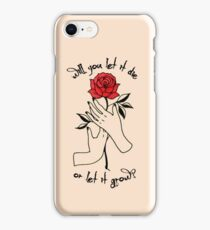 Shawn Mendes - Roses Lyrics iPhone Case/Skin