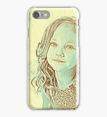 Girl Portrait Young Room iPhone Case/Skin