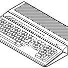 Atari 1040ST by Zern Liew