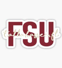 Florida State University Sticker