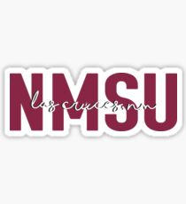 New Mexico State University Sticker