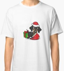 Pet Dog For The Holidays At Christmas Classic T-Shirt