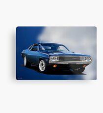 1970 Dodge Challenger RT Metal Print