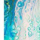 Abstract flow art- SEA FOAM by NerdgasmsByKat