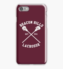 Beacon Hills Lacrosse - Teen Wolf iPhone Case/Skin