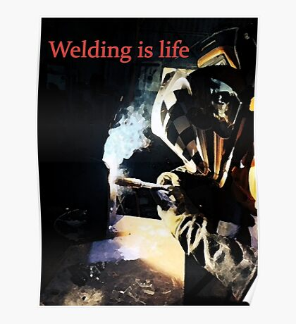 Welding: Posters | Redbubble