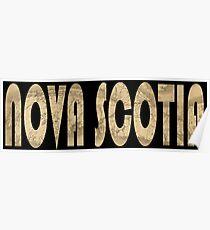 Nova Scotia 1834 Poster