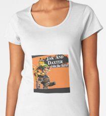 Jak and Daxter Join the Battle! | Super Smash Bros Splash Screen Women's Premium T-Shirt