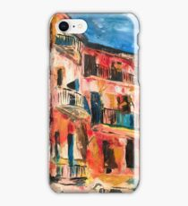 Rue st Vincent Collioure iPhone Case/Skin