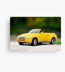 2003 Chevrolet SSR 'Retro Style' Pickup Canvas Print