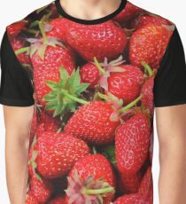 Strawberry Pattern  Graphic T-Shirt