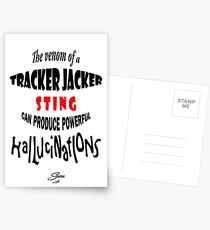 Tracker Jacker quote Postcards